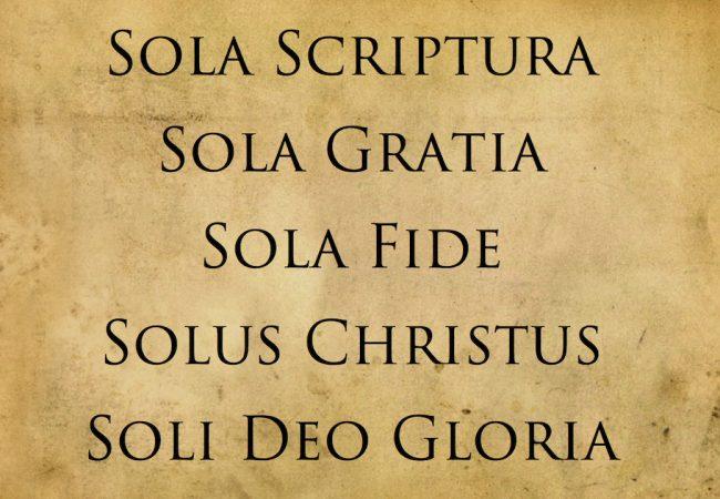 Sola Scriptura по Лютеру. Напоминание